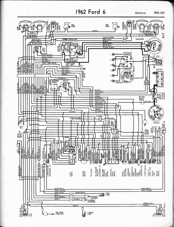 67 Mustang Ignition Switch Wiring Diagram