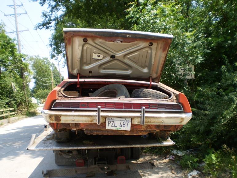 Exterior Car Part Names: 1970 1971 Ford Torino Gt 70 71 Parts Door