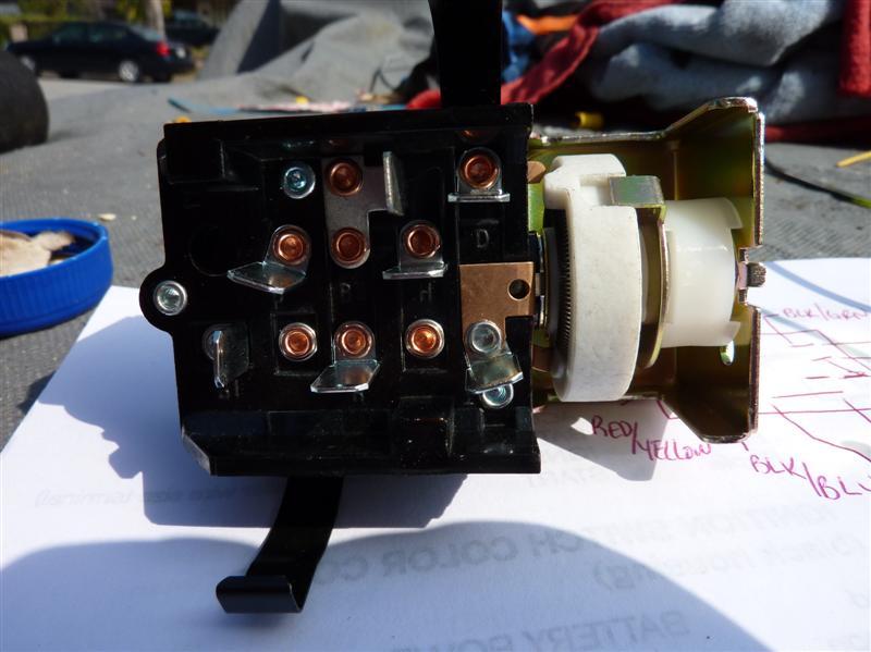 Scott Drake Headlight Switch