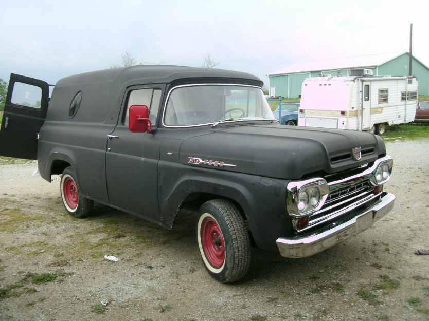 1960 ford panel trucks for sale autos post. Black Bedroom Furniture Sets. Home Design Ideas