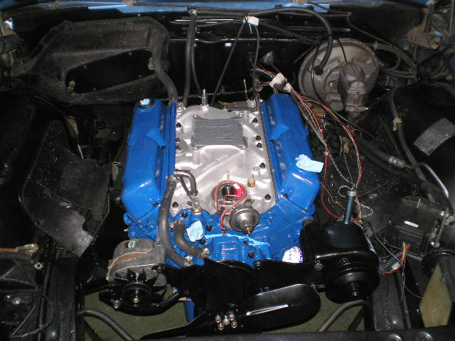 Engine Compartment And Engine Clean And Paint Ford