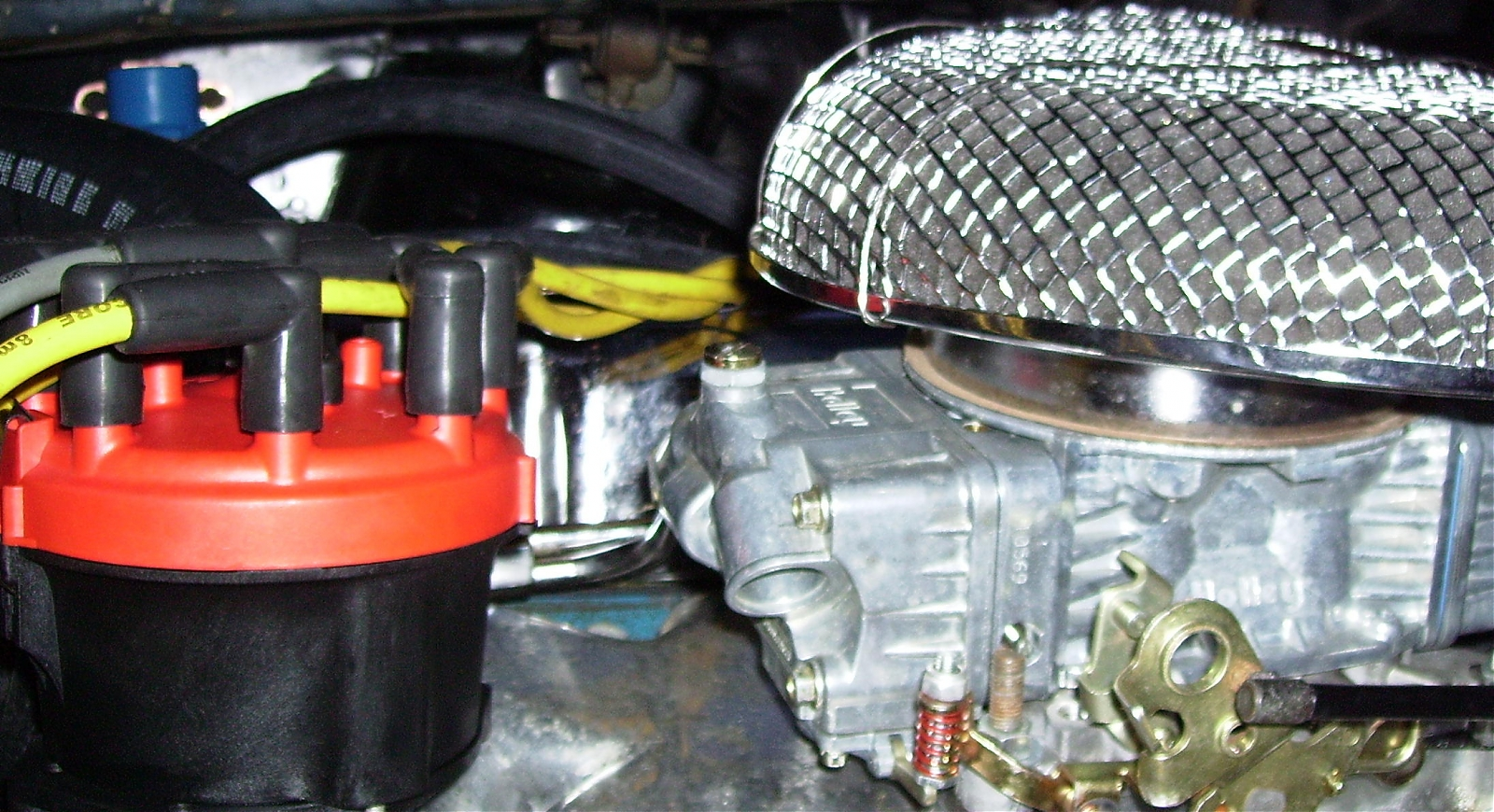 Low Profile Air Cleaner Base : Low clearance air cleaner ford muscle forums