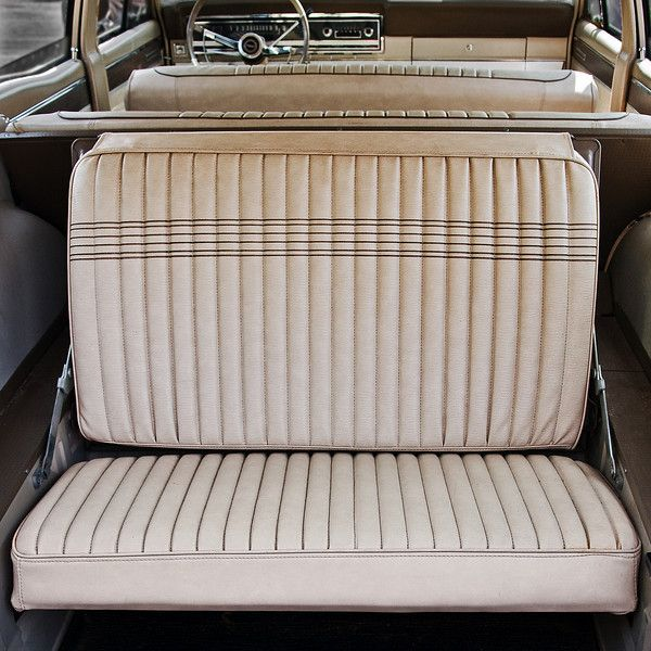 3rd row rear seat  66 Fairlane wagon  Ford Muscle Forums  Ford