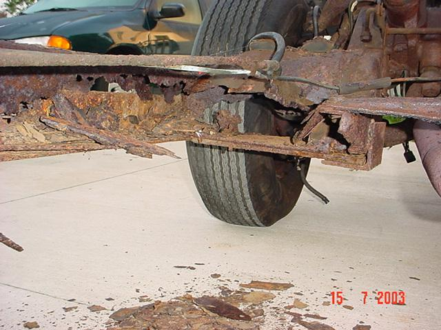 Worst Rust You Have Ever Seen Ford Muscle Forums Ford