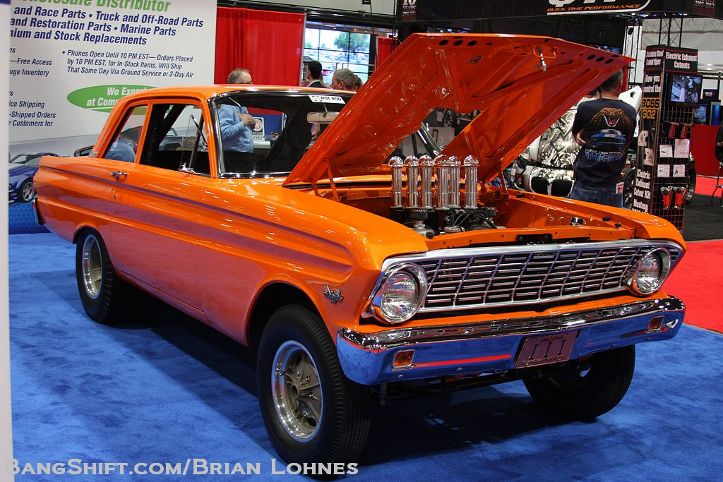 Pro Touring Cars For Sale >> SEMA 2012 - 1964 Falcon Sedan Gasser ! - Ford Muscle Forums : Ford Muscle Cars Tech Forum