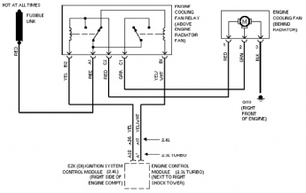 yamaha trx 850 wiring diagram ford 850 wiring diagram radiator for explorer 5.0? taurus fan with volvo relay ... #2