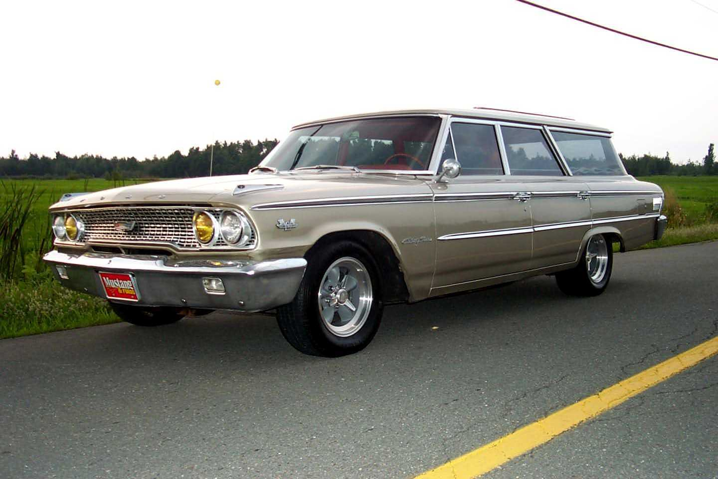 Ford Ltd Station Wagonpictures Of 1963 Galaxie Muscle Forums 1970 Crown Victoria Pictures