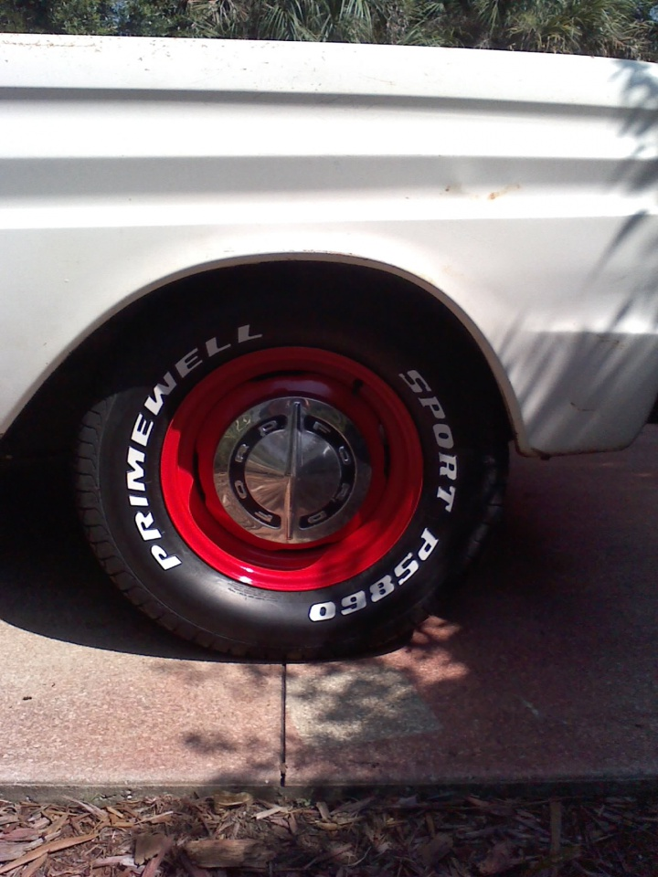 "Will shocks, 14"" wheels, Scarebird brake setup for 65 Falcon fit a 70 Maverick?-wheels-5-new-215-70-14-tires.jpg"