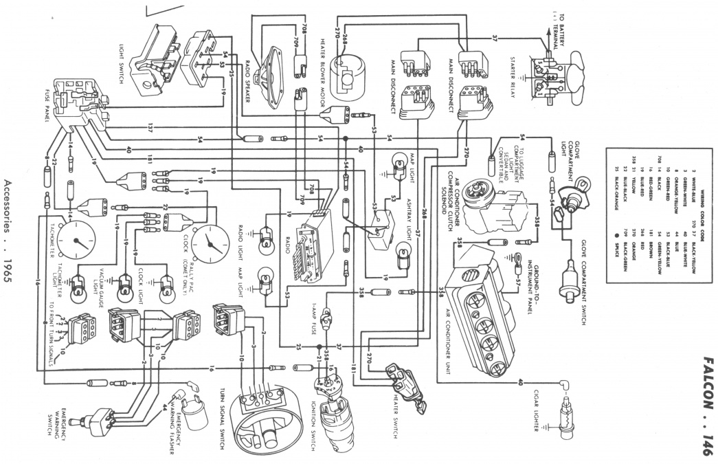 wiring diagram  65 merc comet with ac